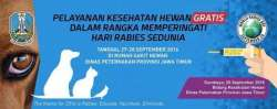 HARI RABIES SEDUNIA/WORLD RABIES DAY 2016