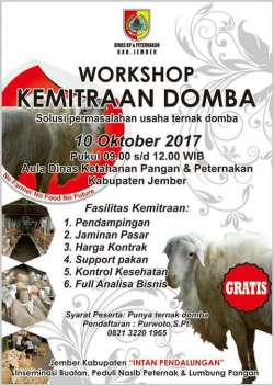 workshop domba jember 2017