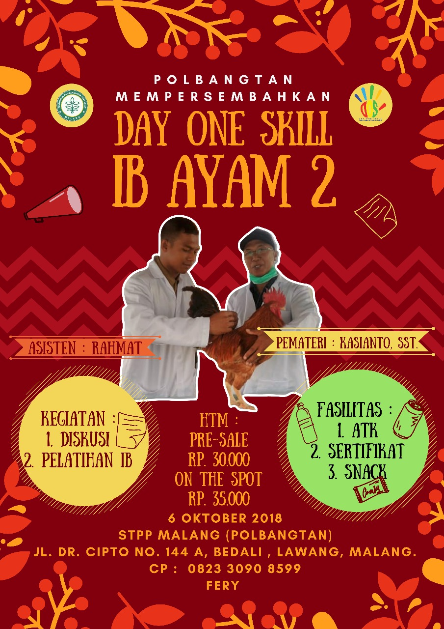 DAY ONE SKILL IB AYAM 2